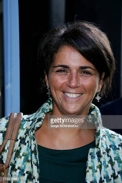 France Televisions Press Conference At The Salle Pleyel In Paris France On August 30 2007 Valerie Benaim