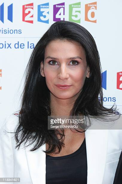 France Televisions Press Conference In Paris France On August 28 2008 Marie Drucker