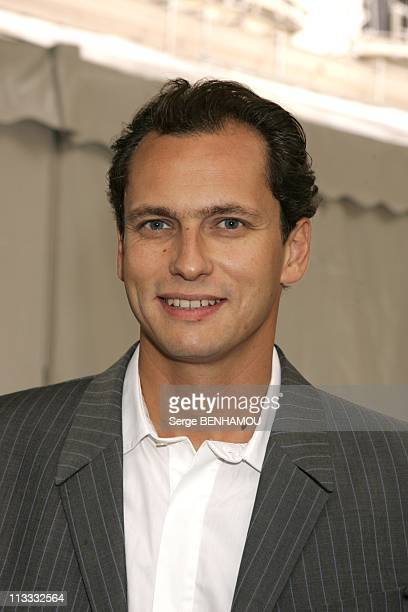 France Televisions Press Conference On September 5Th 2005 In Paris France Here Louis Laforge