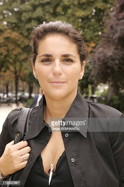 France Televisions Press Conference On September 5Th 2005 In Paris France Here Valerie Benaim