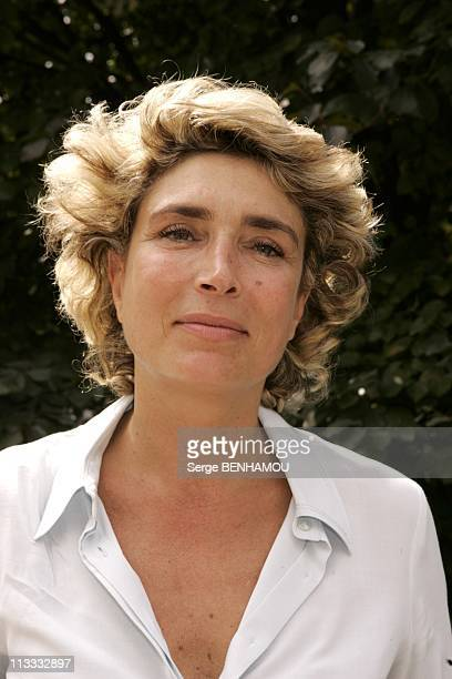 France Televisions Press Conference On September 5Th 2005 In Paris France Here Marie Ange Nardi