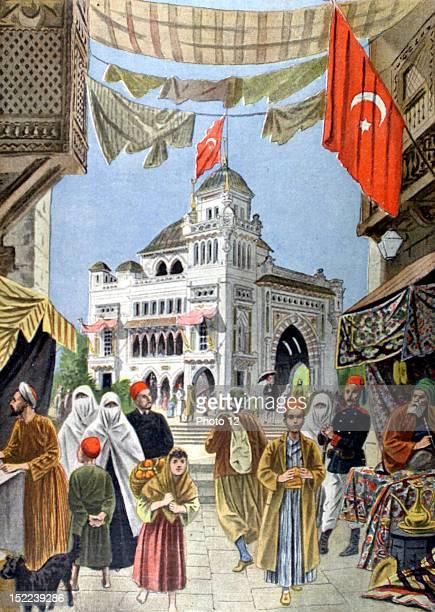 France The Turkish pavilion at the 1900 Paris World Fair In 'Le Petit journal'631900