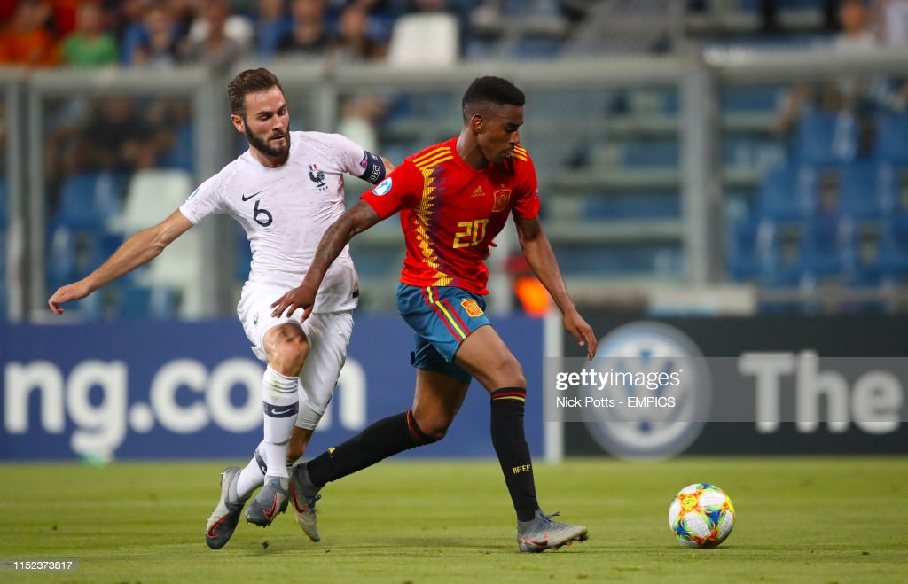 Spain U21 v France U21 - UEFA European Under-21 Championship - Semi Final - Mapei Stadium : News Photo