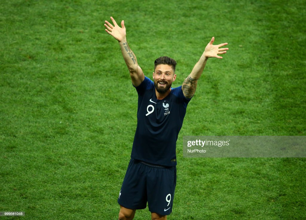 France v Croatia - FIFA World Cup Russia 2018 Final : News Photo