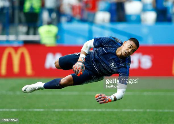 France v Uruguay Quarterfinals FIFA World Cup Russia 2018 Alphonse Areola at Nizhny Novgorod Stadium in Russia on July 6 2018