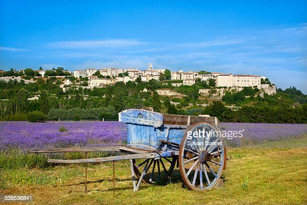 France, Vaucluse, Village of Sault