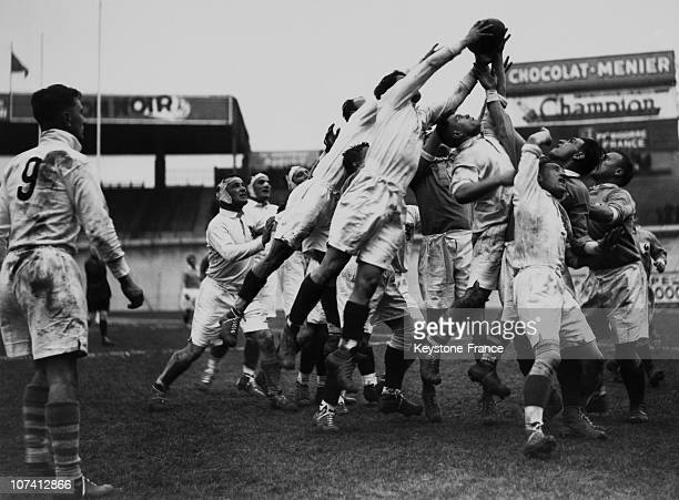France Versus Pyrenees Bigorre On March 26Th 1939 In Rugby Match