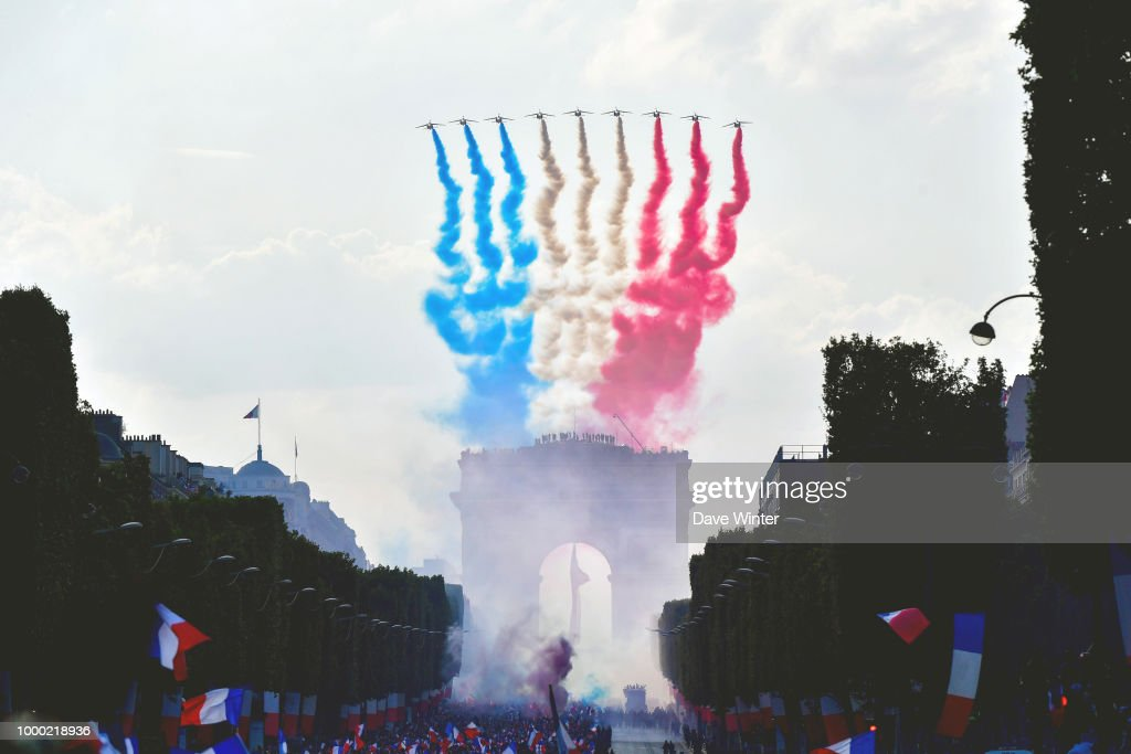 France Victory Celebration - FIFA World Cup 2018