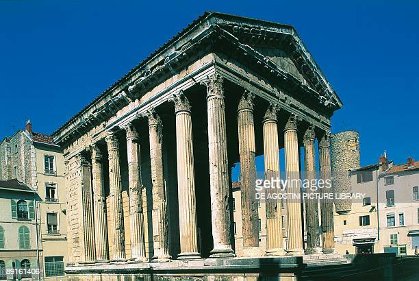 France Vienne Temple of Augustus and Livia