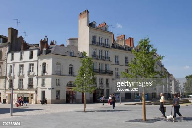 France, Western France, Cours Franklin Roosevelt, June 2014
