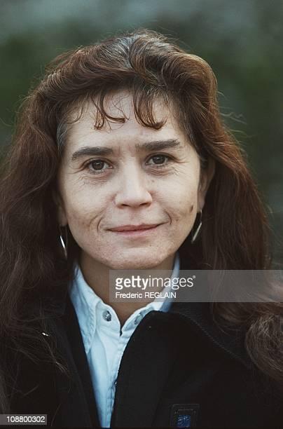 Maria Schneider at Festival Utopia Nantes in 2000