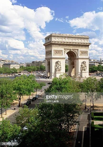 France,Paris,Arc de Triomphe