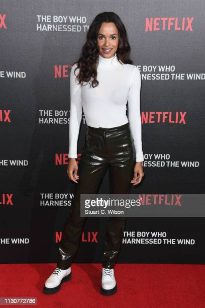 Frances Aaternir attends the UK Premiere of The Boy Who Harnessed The Wind at Ham Yard Hotel on February 19 2019 in London England