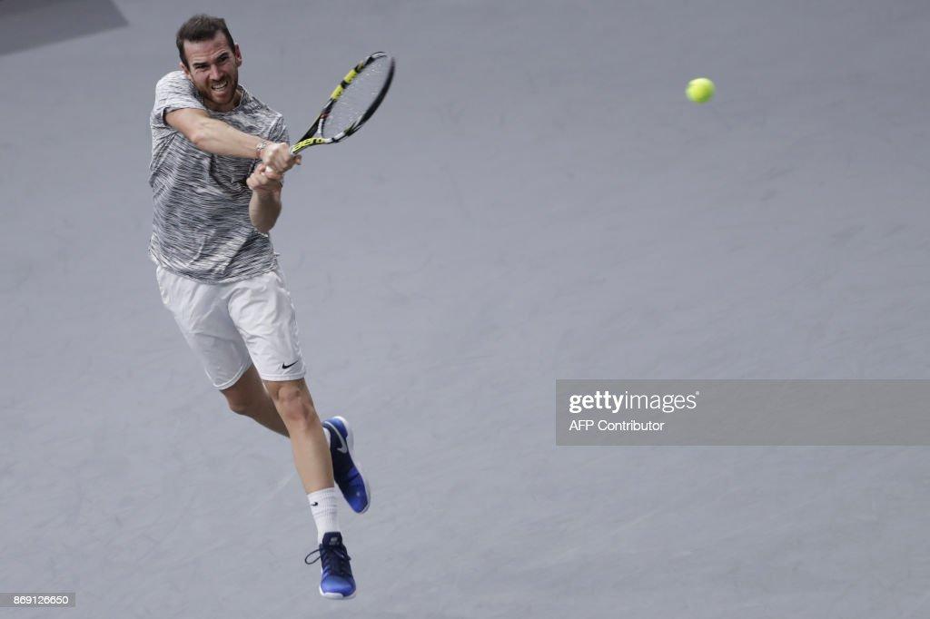 TENNIS-ATP-PARIS-MASTERS : News Photo