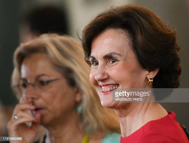France's and the EU candidate as new DirectorGeneral of the Food and Agriculture Organization of the United Nations agency Catherine GeslainLaneelle...