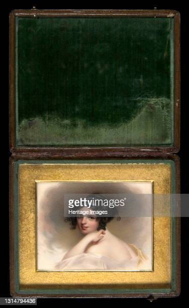 "Frances Anne ""Fanny"" Kemble, ca. 1833. Artist Henry Brintnell Bounethea."