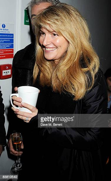 Frances Avery Agnelli attends a private party to see the Christmas lights switch on at the Stella McCartney store on November 24 2008 in London...