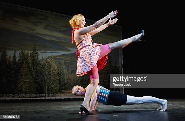 Frances Barber and Karl Johnson in the production Tales From The Vienna Woods at the National TheatreLondon Robbie Jack/Corbis 0/13/03