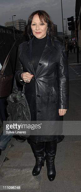 Frances Barber attend Cause Celebre Press Night held at The Old Vic Theatre on March 29 2011 in London England