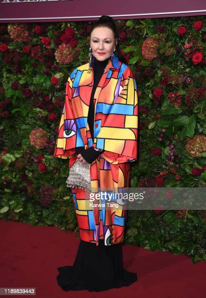 Frances Barber attends the 65th Evening Standard Theatre Awards at London Coliseum on November 24 2019 in London England