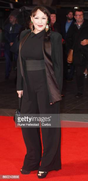 Frances Barber attends the European Premiere of Film Stars Don't Die In Liverpoat Odeon Leicester Square 61st BFI London Film Festival