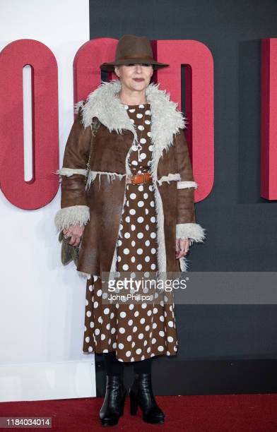 Frances Barber attends The Good Liar World Premiere at BFI Southbank on October 28 2019 in London England