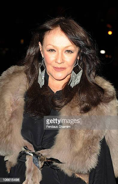 Frances Barber attends The Theatrical Management Association TMA Theatre Awards at Lyric Theatre on November 7 2010 in London England
