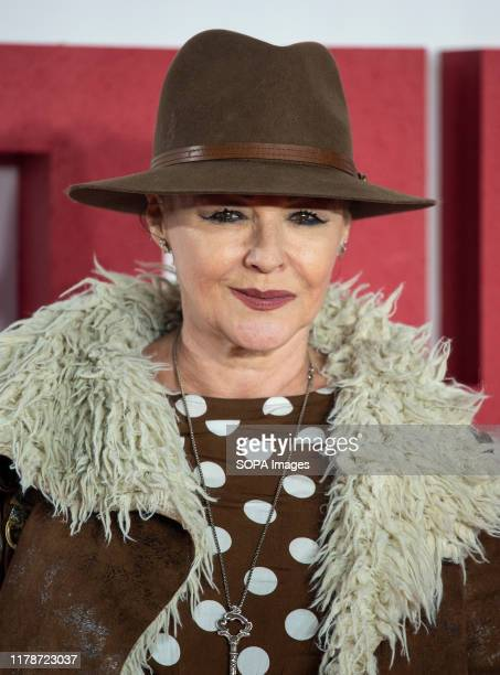 Frances Barber attends the World premiere of The Good Liar at the BFI Southbank in London