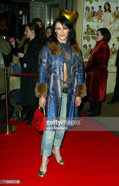 Frances Barber during Suzie Gold London Premiere at Screen On The Hill in London Great Britain