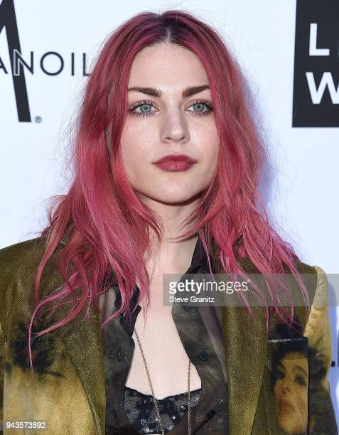 Frances Bean Cobain arrives at the The Daily Front Row's 4th Annual Fashion Los Angeles Awards at Beverly Hills Hotel on April 8 2018 in Beverly...