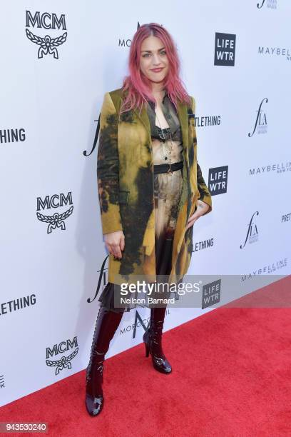 Frances Bean Cobain attends The Daily Front Row's 4th Annual Fashion Los Angeles Awards at Beverly Hills Hotel on April 8 2018 in Beverly Hills...
