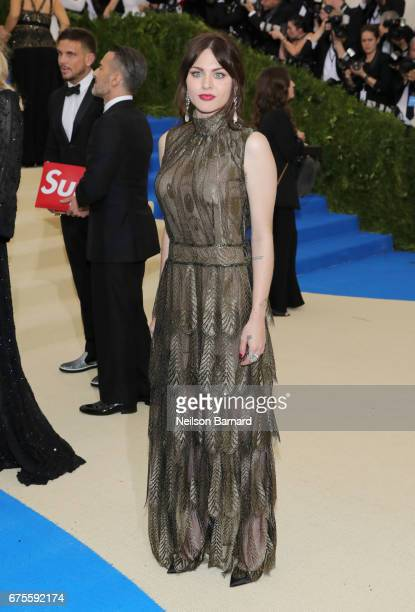 Frances Bean Cobain attends the 'Rei Kawakubo/Comme des Garcons Art Of The InBetween' Costume Institute Gala at Metropolitan Museum of Art on May 1...