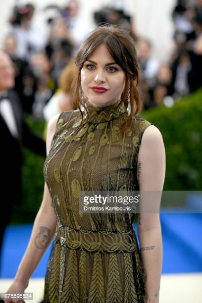 Frances Bean Cobain attends the Rei Kawakubo/Comme des Garcons Art Of The InBetween Costume Institute Gala at Metropolitan Museum of Art on May 1...