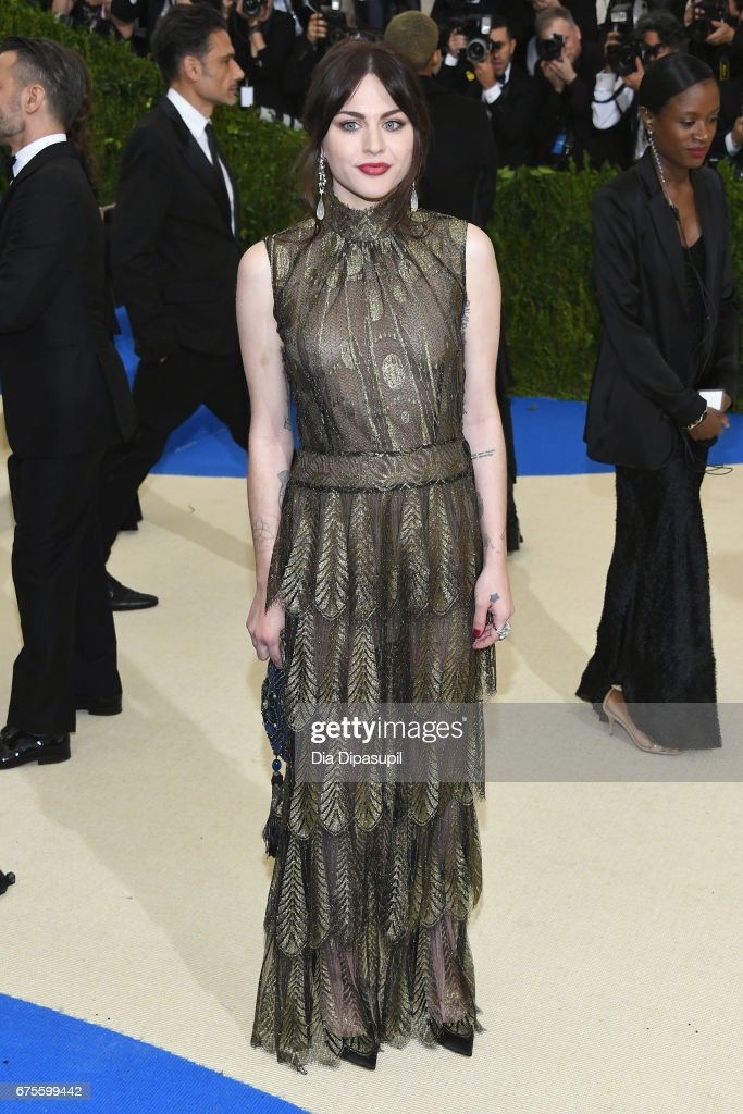 Frances Bean Cobain attends the 'Rei Kawakubo/Comme des Garcons: Art Of The In-Between' Costume Institute Gala at Metropolitan Museum of Art on May 1, 2017 in New York City.
