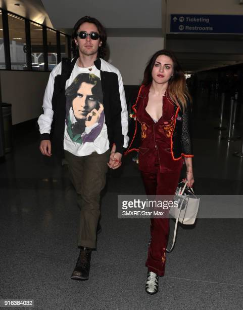 Frances Bean Cobain is seen on February 9 2018 in Los Angeles California