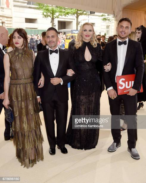 Frances Bean Cobain Marc Jacobs Courtney Love and Char Defrancesco attends the Rei Kawakubo/Comme des Garcons Art Of The InBetween Costume Institute...