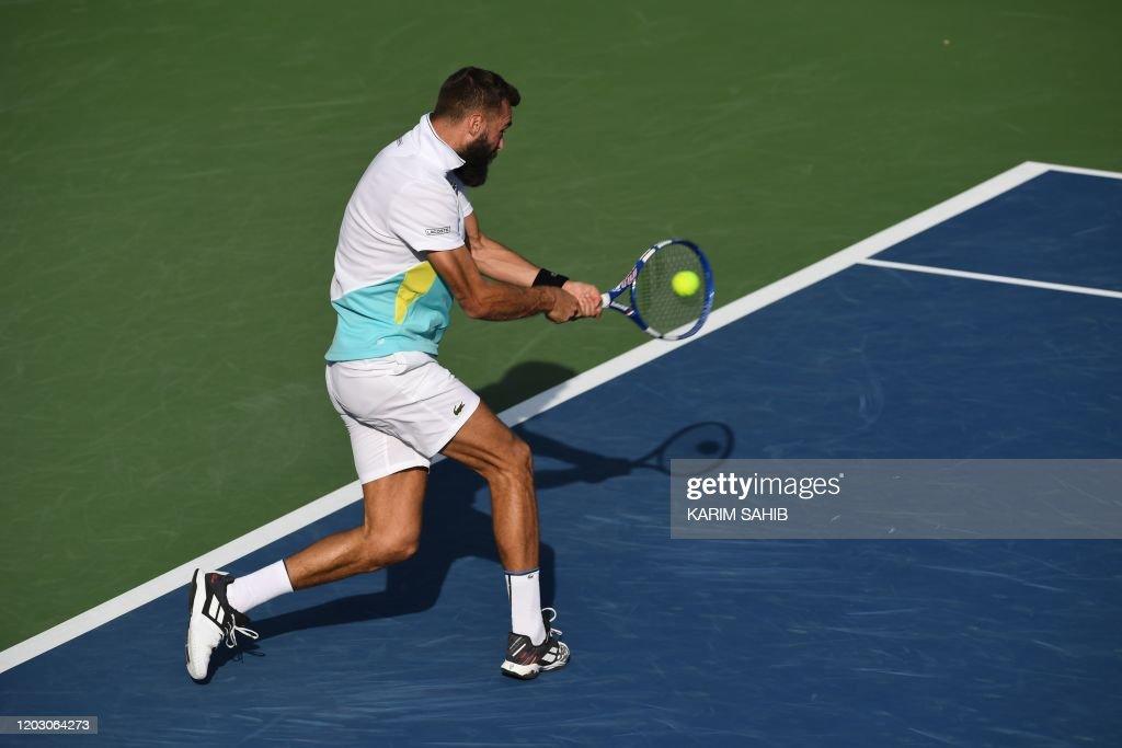 TENNIS-ATP-DUBAI-UAE : News Photo