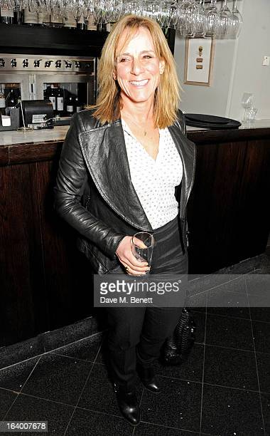 Frances Cain attends the Maggie's Barts fundraising luncheon at Le Cafe Anglais on March 19 2013 in London England