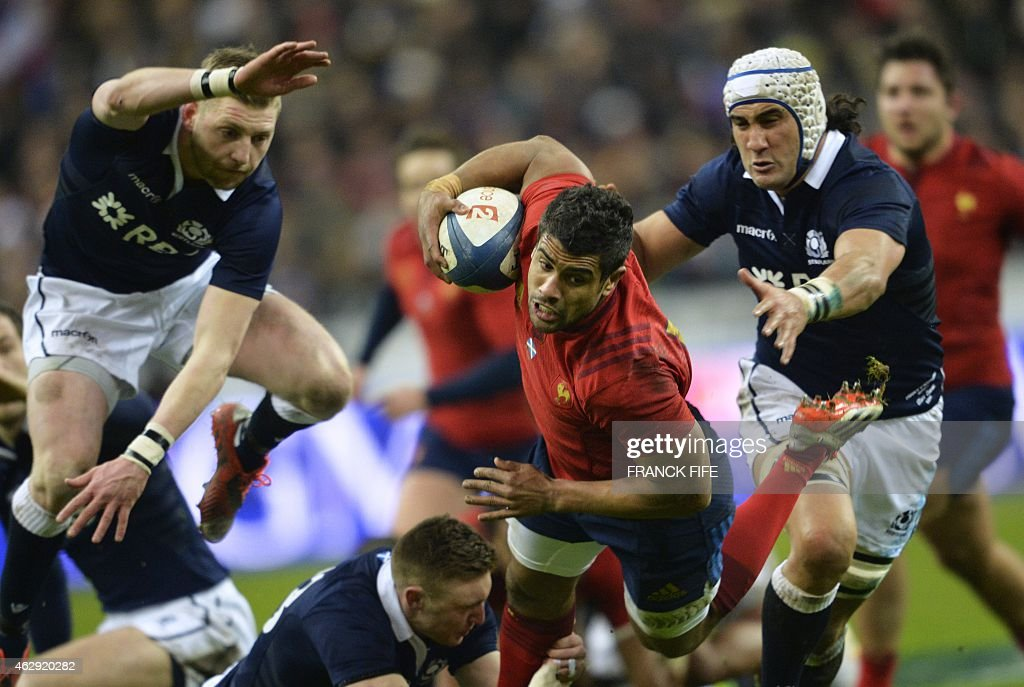 RUGBYU-6NATIONS-FRA-SCO : News Photo