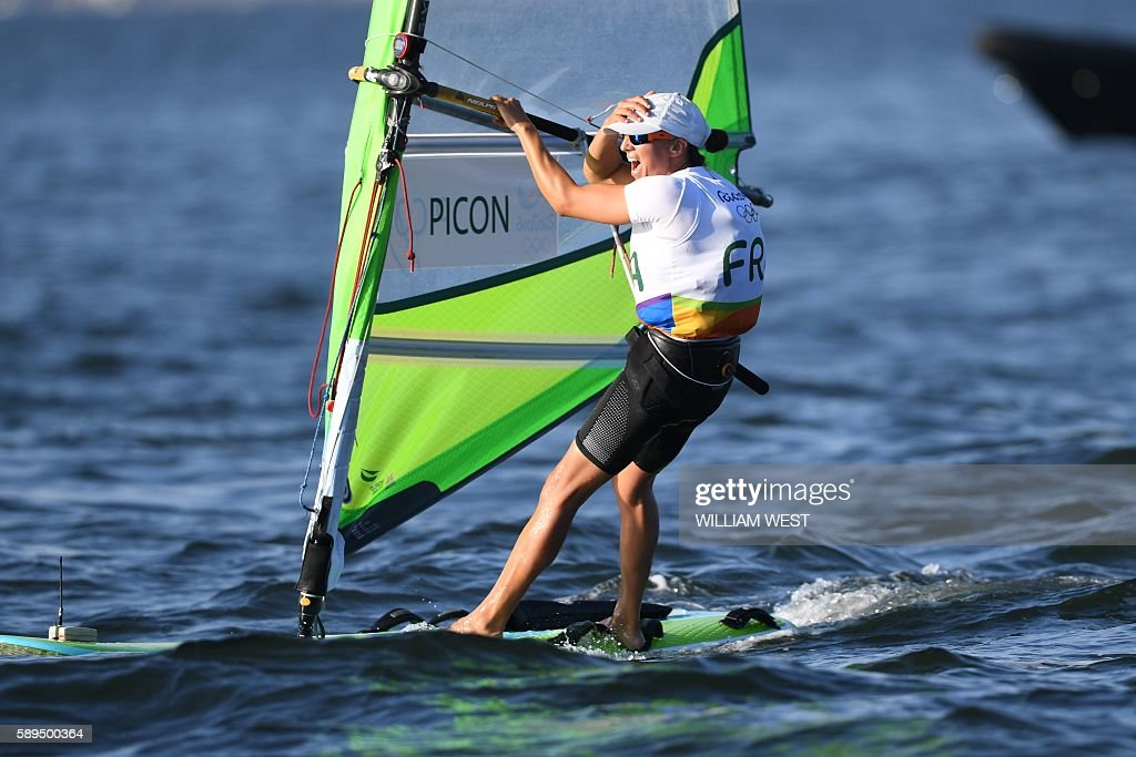 SAILING-OLY-2016-RIO : News Photo