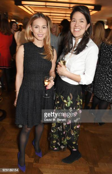 Frances Christie attends the Harper's Bazaar lunch to celebrate International Women's Day at 34 Mayfair on March 8 2018 in London England