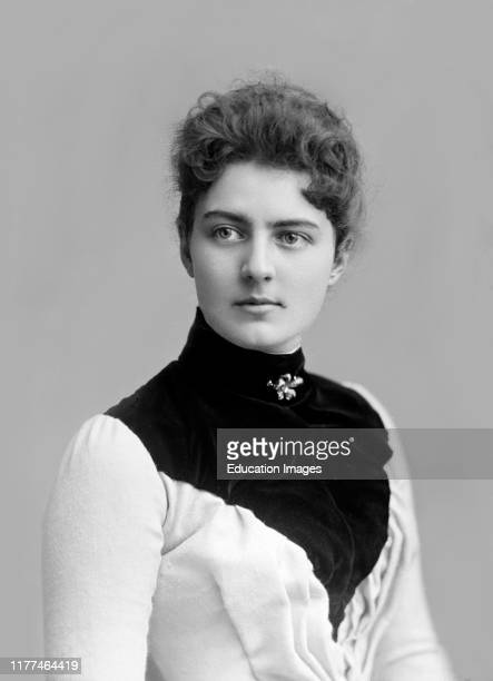 Frances Cleveland 18641947 First Lady of the United States 188689 and 189397 as Wife of US President Grover Cleveland photograph by Charles Milton...
