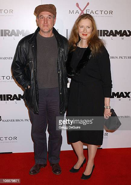 Frances Conroy and husband Jan Munroe during 'The Aviator' Los Angeles Premiere Arrivals at Grauman's Chinese Theatre in Hollywood California United...