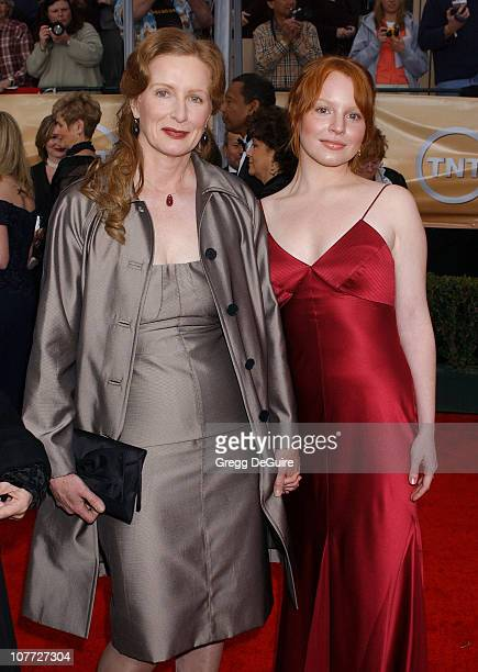 Frances Conroy and Lauren Ambrose during 10th Annual Screen Actors Guild Awards Arrivals at Shrine Auditorium in Los Angeles California United States