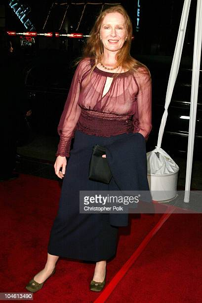 Frances Conroy during LA Premiere of HBO's series Six Feet Under at Grauman's Chinese Theatre in Hollywood CA United States