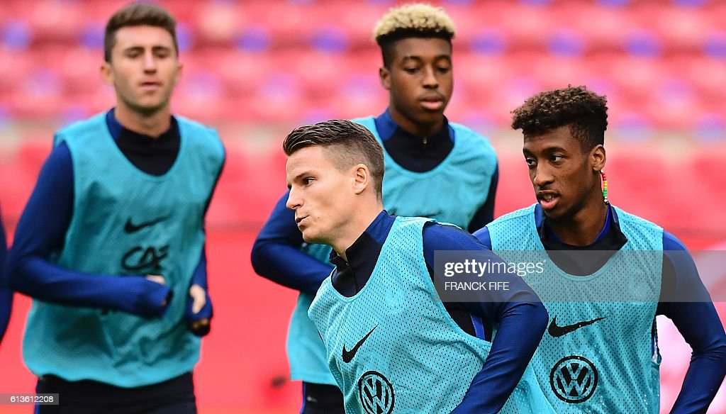 FBL-NED-FRA-WC-2018-TRAINING : News Photo