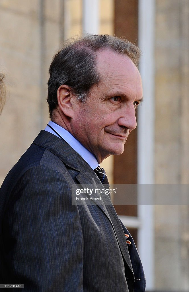 Weekly French Cabinet Meeting At Elysee Palace - April 6, 2011