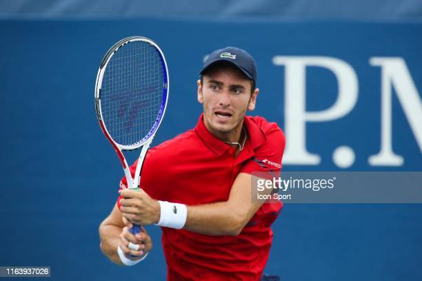 France's Elliot Benchetrit during the Men's qualifying singles 3rd round at Flushing Meadows Corona Park on August 23 2019 in New York City