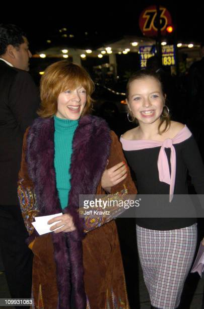 Frances Fisher and Francesca FisherEastwood during Cold Mountain Los Angeles Premiere at Mann National Theater in Los Angeles California United States