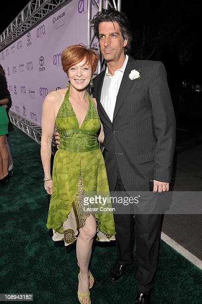 Frances Fisher and guest attend the 18th annual Environmental Media awards at the Ebell Theatre on November 12 2008 in Los Angeles California